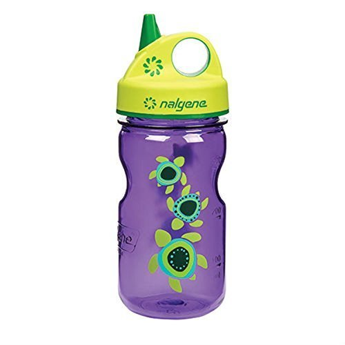 Nalgene Kids / Children's Grip-n-Gulp - Purple Sea Turtle