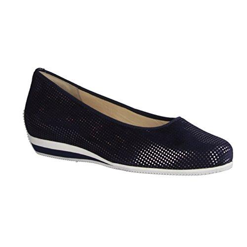 Hassia - Zapatos de vestir de Piel para mujer azul azul