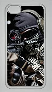 Video Game Call of Duty Modern Warfare Custom PC Transparent Case for iPhone 5C by icasepersonalized