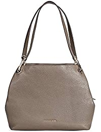 Raven Large Pebbled Leather Shoulder Bag