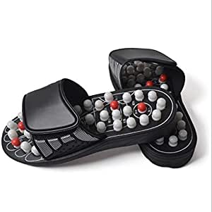 Slipper Massager with Adjustable Vamp, Large Size