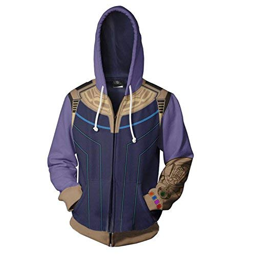 (Super Hero Hoodie Super Hero Costume Mens Creative Fashion Sweater Halloween Costume)
