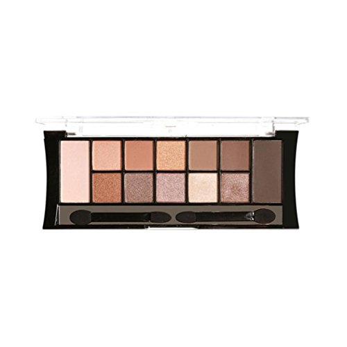 Eyeshadow Palette Makeup Kit, Inkach 12 Colors Cosmetic Powd
