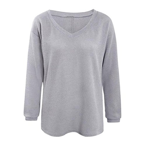 Tricot Pull LuckyGirls Femmes Manches Longues Casual wvXOqS1zH