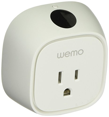 WeMo Insight Switch, Control Your Electronics and Monitor En