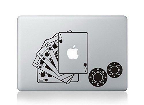 - Poker Full House Deck Cards Chips Royal Flush Skin Decal Vinyl Apple Macbook