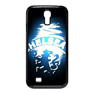 Yearinspace Chelsea Fc Samsung Galaxy S4 Case Chelsea Fc Blue Black For Girls Protective, Samsung Galaxy S4 Cases For Women, {Black}