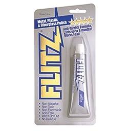 Flitz Polish - Paste - 1.76 oz. Tube - 1 Year Direct Manufacturer Warranty
