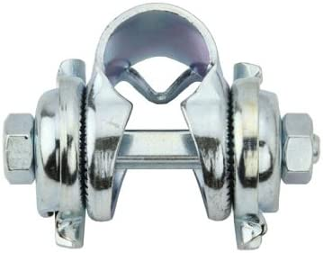 CHROME Bicycle Twisted Seat Post Clamp lowrider bike seat POST clamp cruiser