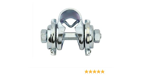 """BICYCLE 7//8/"""" SEAT CLAMP SILVER or BLACK BEACH CRUISER LOWRIDER BIKES CYCLING NEW"""