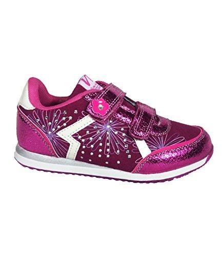 Mädchen Turnschuhe Sneakers Größe UK 8bis 11Größe EU 25bis 30Fuchsia