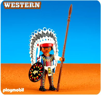 PLAYMOBILÂ Playmobil Add-On Series - Native American Chief II