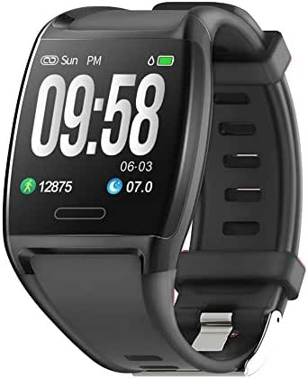 HalfSun Fitness Tracker, Activity Tracker Fitness Watch with Heart Rate Monitor, Blood Pressure Monitor, IP67 Waterproof Smart Watch with Sleep Monitor, Calorie Counter, Pedometer