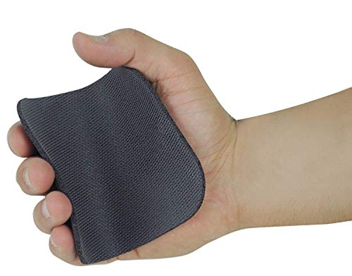 Original Lifting Grips by GRIP POWER PADS The Alternative to Gym Workout Gloves Comfortable & Light Weight Grip Pad for Men & Women That Want to Eliminate Sweaty Hands (Single Pair)