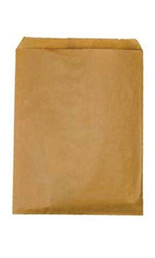 Medium Natural Kraft Paper Merchandise Bags - Case of 1,000