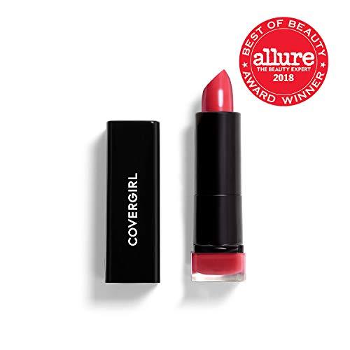 COVERGIRL Exhibitionist Lipstick Cream, Succulent Cherry 295, Lipstick Tube 0.123 OZ (3.5 g)