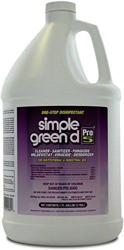 Simple Green 30501 d Pro 5 Disinfectant, 1 gal Bottle (Renewed)