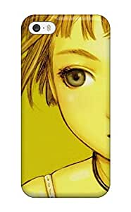 Rugged Skin Case Cover For Iphone 5/5s- Eco-friendly Packaging(women)