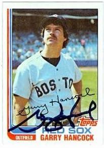 B00BB6LNDK Garry Hancock autographed Baseball Card (Boston Red Sox) 1982 Topps #322 414lqyytEML