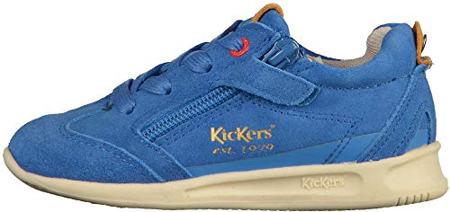 Mixte Bébé Baskets Kickers Lightbleu 18 BB tqW4Z