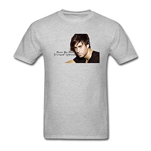 Men's Enrique Iglesias DIY Cotton Short Sleeve T Shirt