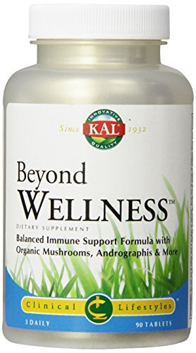 KAL Beyond Wellness Tablets, 90 Count by Kal