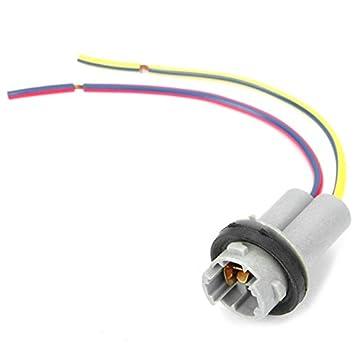 Acgosp T15 10 Cm Kabel Halter Auto Lampe Buchse Grau Amazon De