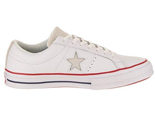 remise noir forme Ox Star Chaussures adultes daim Lifestyle en en pour One blanc Converse de OnFUI