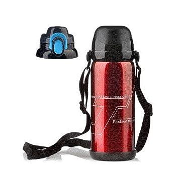 Botella de agua, calentador de agua, deportes al aire libre portátil de gran capacidad