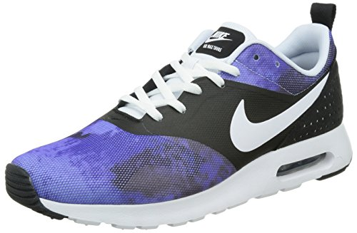 Nike air max Tavas SD Mens Trainers 724765 Sneakers Shoes (UK 7 US 8 EU 41, Black White Persian Volt Violet Ink 004)