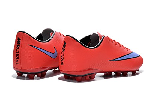 Herren Mercurial X VICTORY TF rot Low Fußball Schuhe Fußball Stiefel