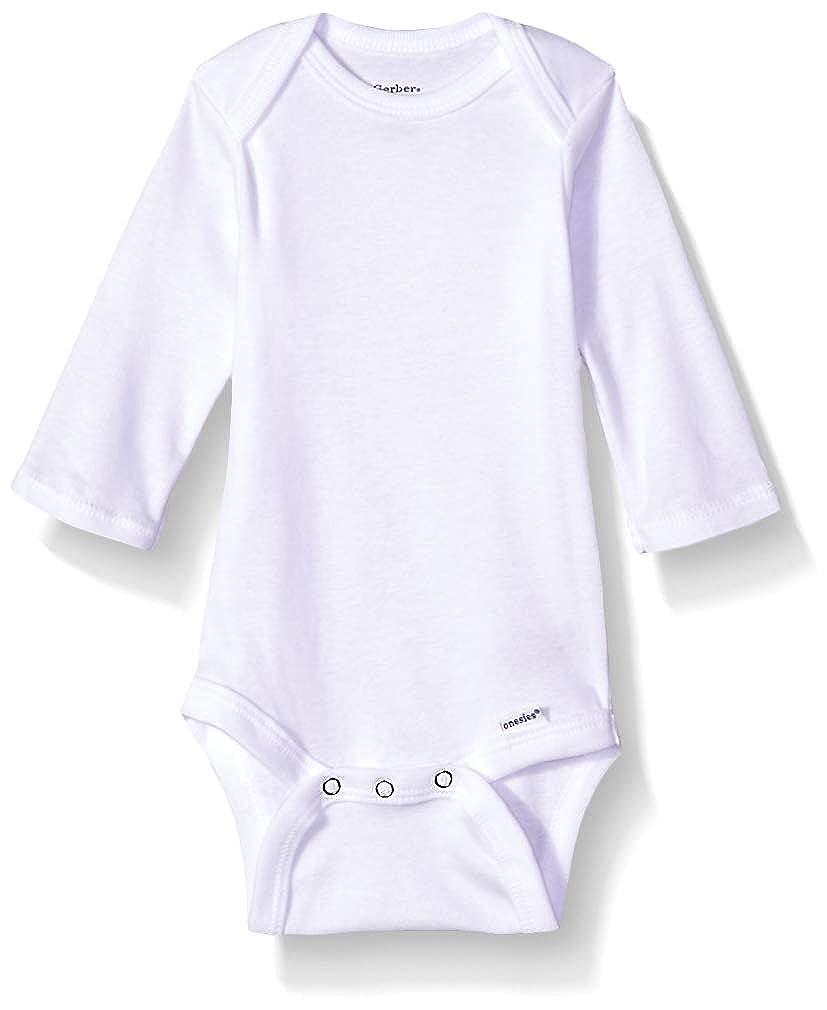 ad3eeb19f Amazon.com: Gerber Baby 5-Pack Organic Long-Sleeve Onesies Bodysuit:  Clothing