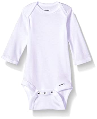 252102949 Amazon.com: Gerber Baby 5-Pack Organic Long-Sleeve Onesies Bodysuit ...