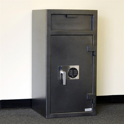 Loading Drop Front Safe - Front Loading Drop Safe with Locking Inter Compartment