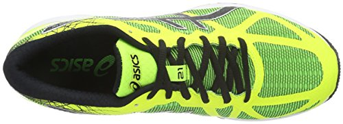 Asics Gel-DS Trainer 21 NC, Scarpe da Corsa Uomo Giallo (Green Gecko/Black/Safety Yellow)