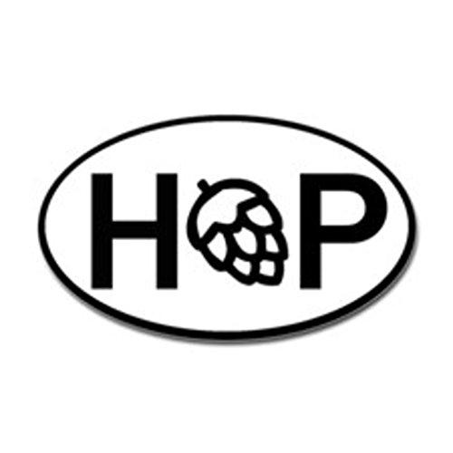 [Hop Beer Fridge Decal Euro Circle | Cooler Fridge Cars Trucks Vans Walls Toolbox Laptop | 5 X 3 In Decal | KCD266] (Hopped Extract)