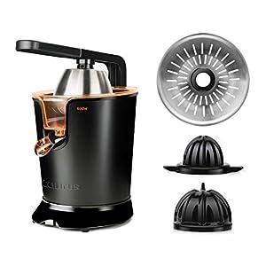 Taurus Easy Press 600 – Presse agrumes électrique levier professionnel 600W, Moteur à courant alternatif, 2 cônes pour…