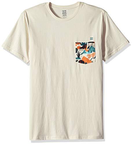 (Billabong Men's Team Pocket T-Shirt Rock)