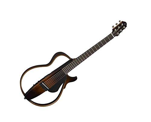 (Yamaha Steel String Silent Guitar, Tobacco Sunburst - SLG200S TBS)