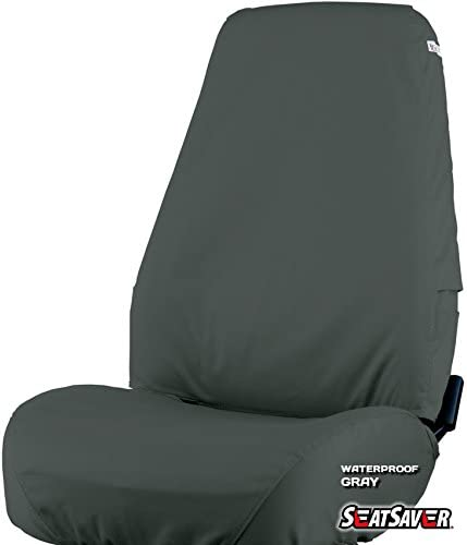 Waterproof Grey Covercraft SeatSaver Second Row Custom Fit Seat Cover for Select Ford Edge Models