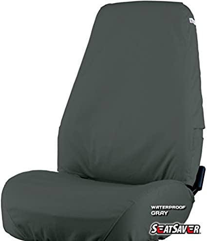 SS7453WFGY Waterproof Covercraft SeatSaver Second Row Custom Fit Seat Cover for Select Chevrolet Equinox//GMC Terrain Models Grey