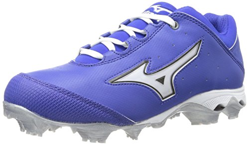 Mizuno Women's Finch Elite Switch Softball Cleat,Royal/White,12 M US by Mizuno