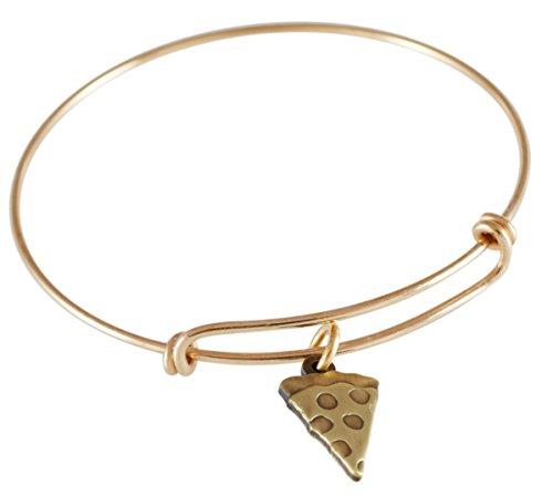 emoji-single-charm-bracelet-pizza-antique-gold