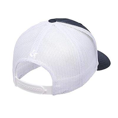 Chicago Flag Mesh Snapback Premium Yupoong Adult Retro Trucker Cap Hat 6606 - OS (One Size) / Navy Blue