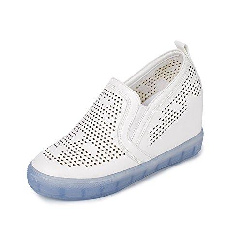 Calzado transpirable/En la versión coreana de aumentar zapatos de altura/Zapatos ocasionales del estudiante B