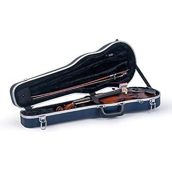 Amazon.com: ADM 4/4 Full Size Violin Hard Case Basic ...