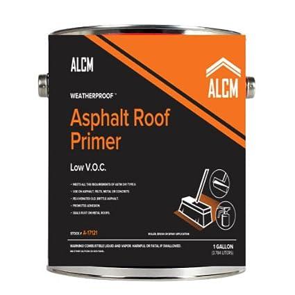 ALCM Low VOC Asphalt Primer (1 Gallon) - - Amazon com