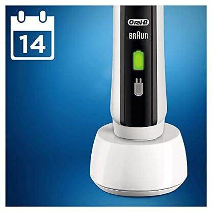 Oral-B PRO2 2500 Black Edition Elektrische Zahnbürste mit visueller Andruckkontrolle für extra Zahnfleischschutz, Reise-Etui, schwarz 4