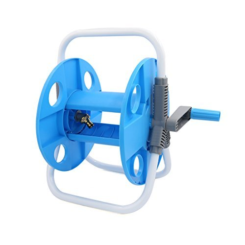 DealMux Portable Folding Garden Water Hose Reel Kit Outdoor Car Wash Cleaning Tool