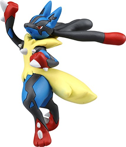 Takaratomy Official Pokemon X & Y SP-42 Mega Lucario Sky Uppercut Action Figure
